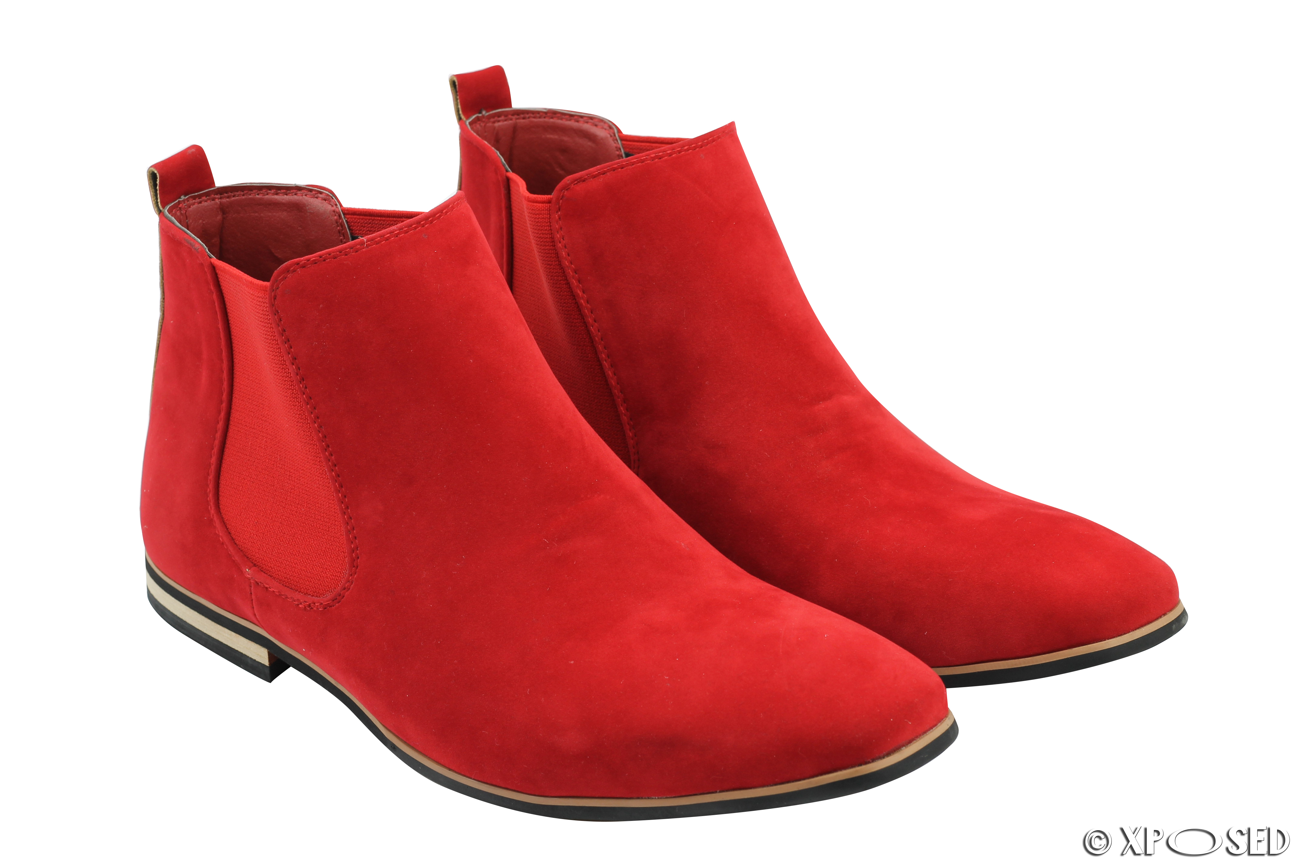 Red Tape Suede Shoes