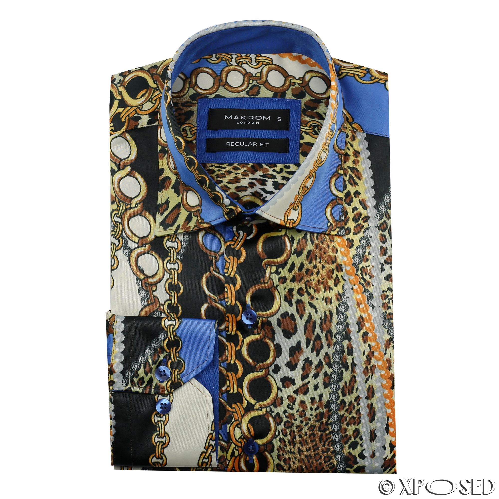 Mens Italian Designer Style Party Shirt Smart Casual Silk