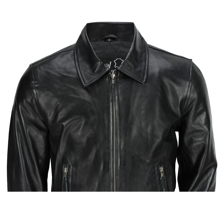Mens Harrington Classic Bomber Jacket Collared Zip Full Sleeve Big Size S to 6XL