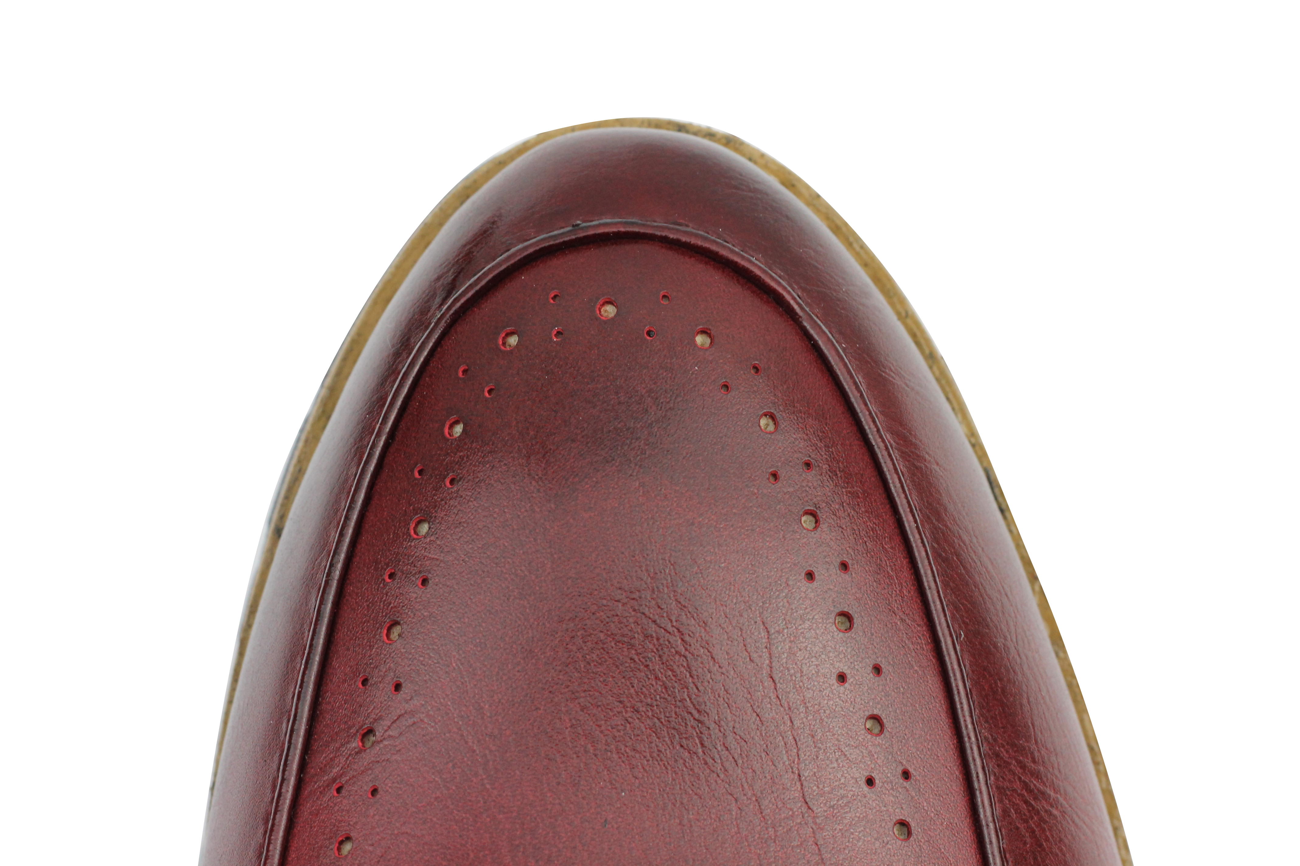 Mens-Leather-Lined-Maroon-Black-Tassel-Loafer-Smart-Casual-Slip-on-Driving-Shoes thumbnail 12