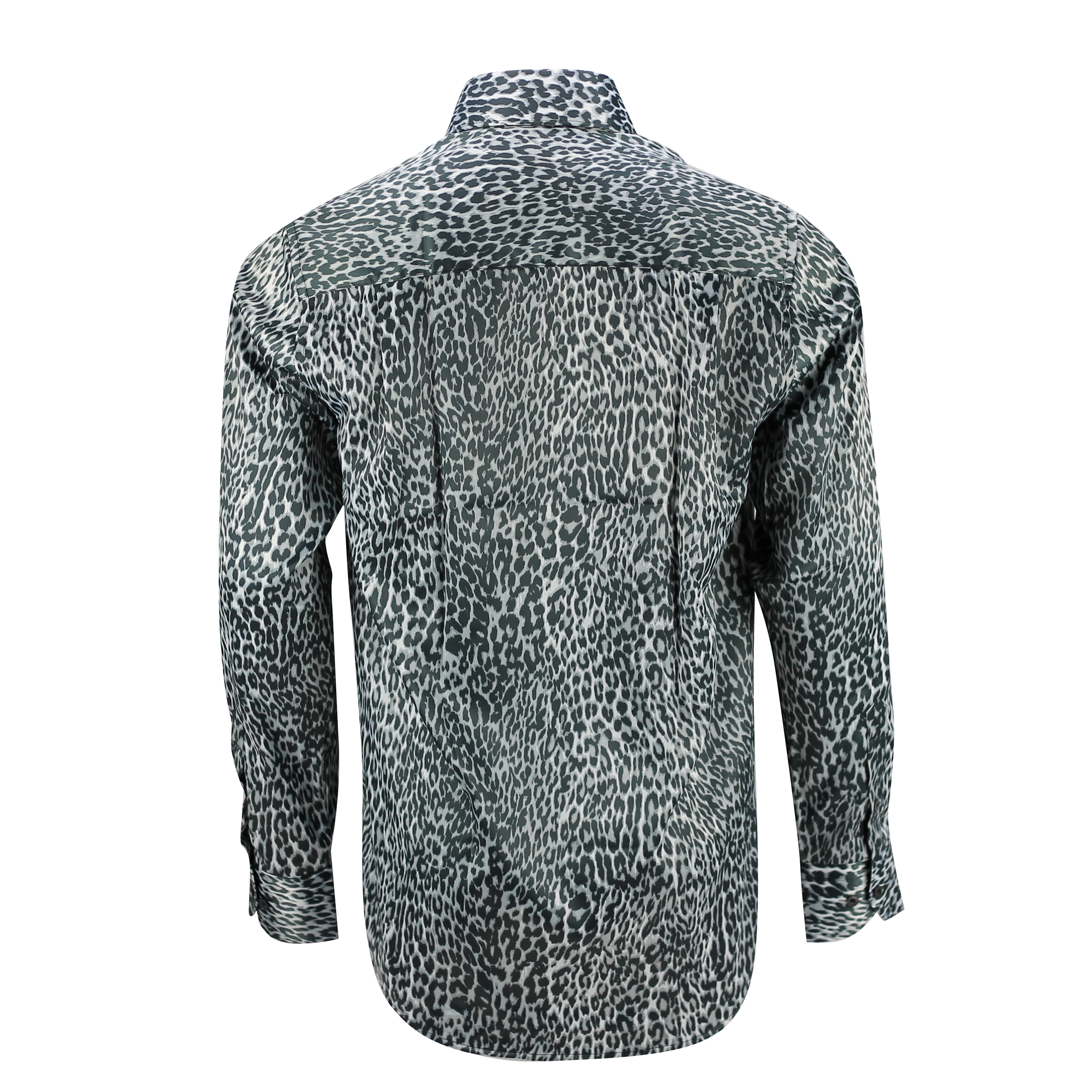 cd4c667946320 Long Sleeve Cheetah Print Shirt - BCD Tofu House