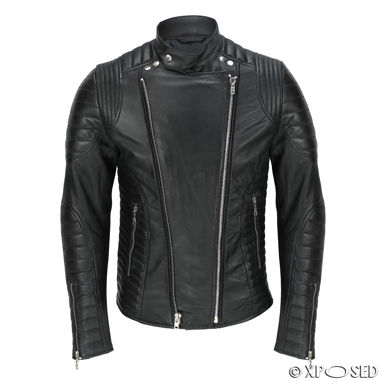 Mens designer leather jackets uk