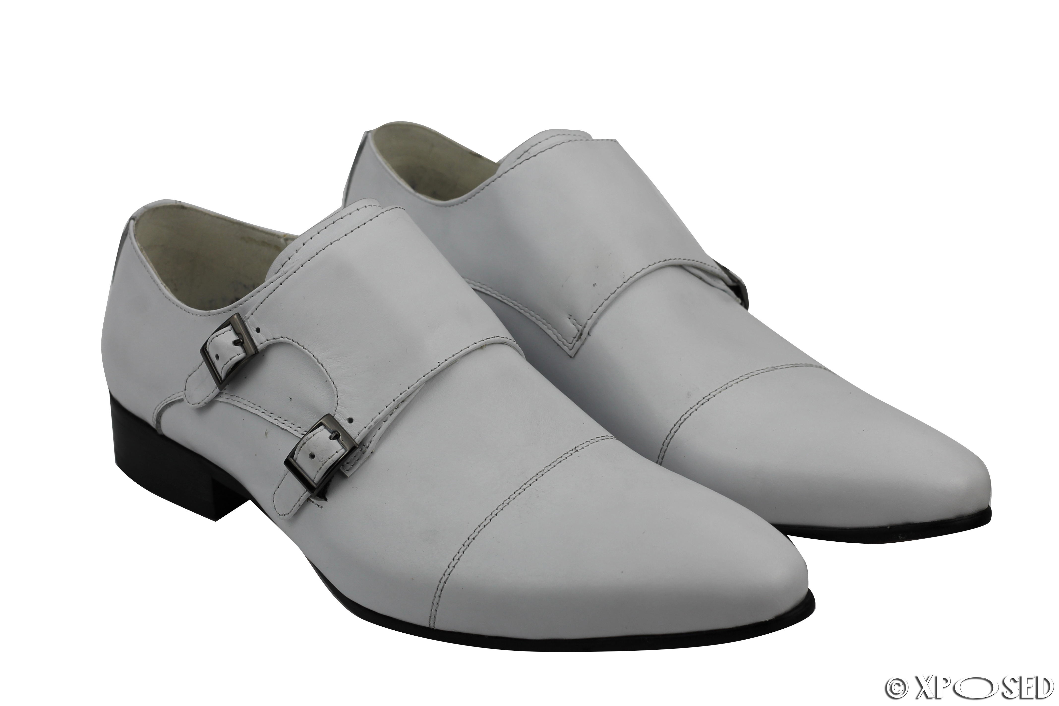 Dress Shoes White Stitched Soles