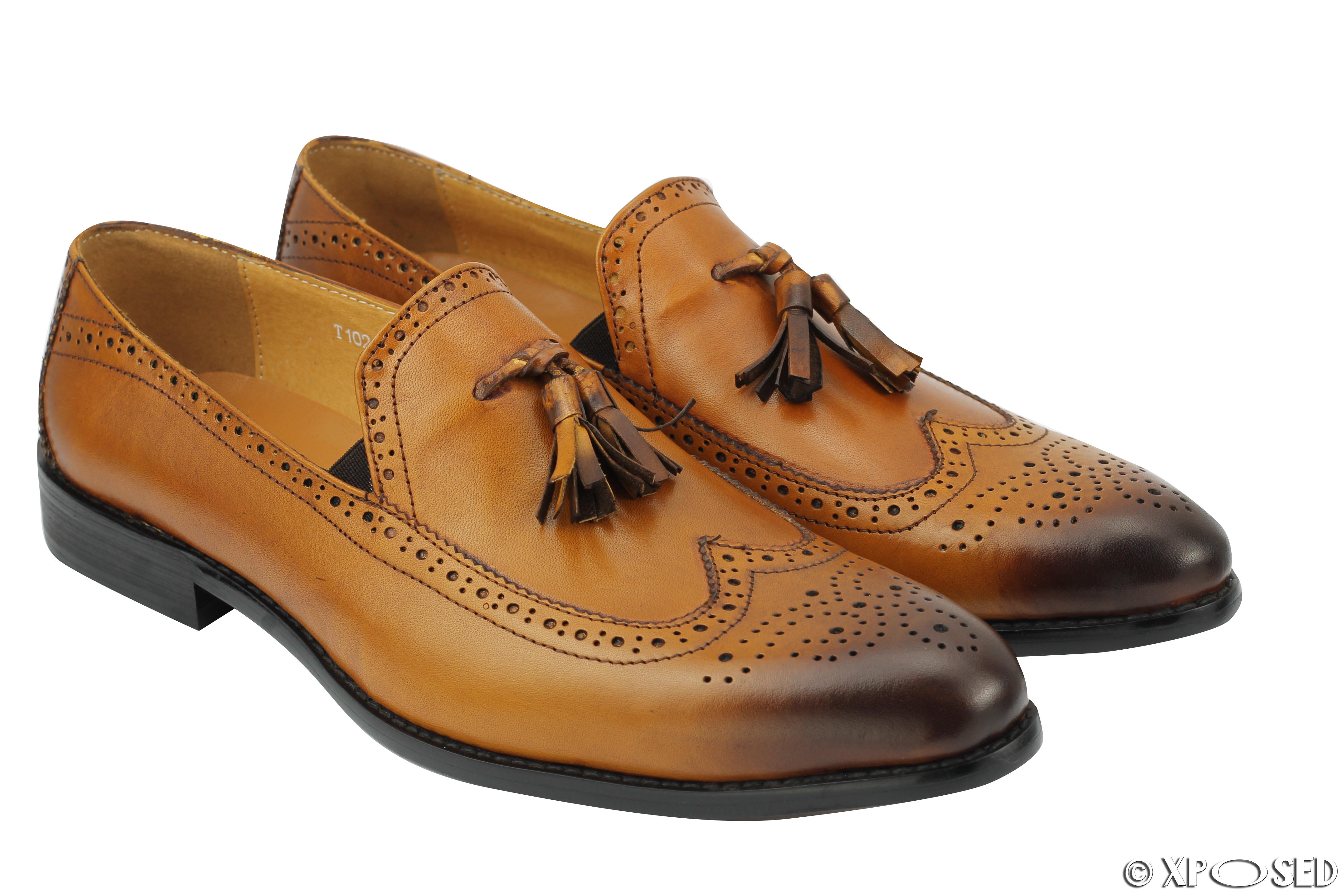 Black And Tan Mens Dress Shoes
