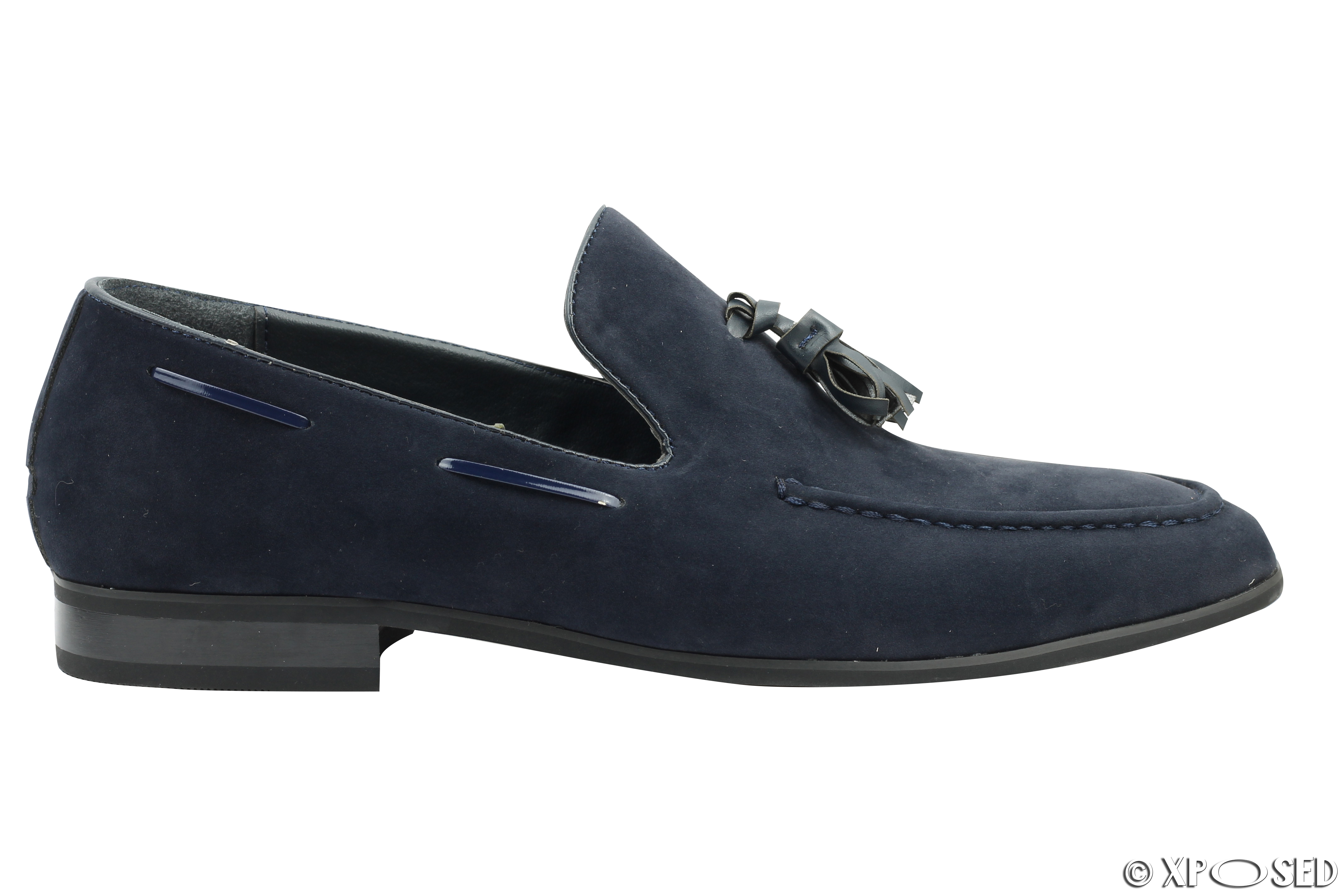 new mens faux suede leather tassel loafers smart driving